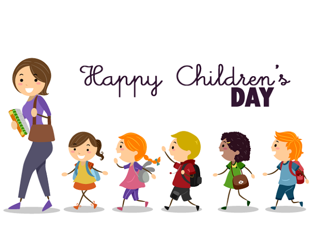 Childrens Day Wishes Poster in English